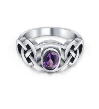 Bling Jewelry Alexandrite Celtic Sterling