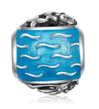 Sterling Playful Dolphins European Bracelets in Women's Charms & Charm Bracelets