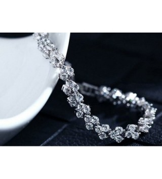 Dazzle Austrian Crystal Elements Bracelet in Women's Tennis Bracelets