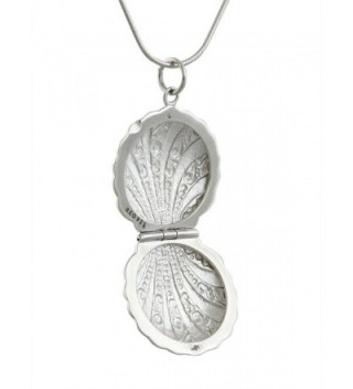 Sterling Silver Nautical Locket Necklace