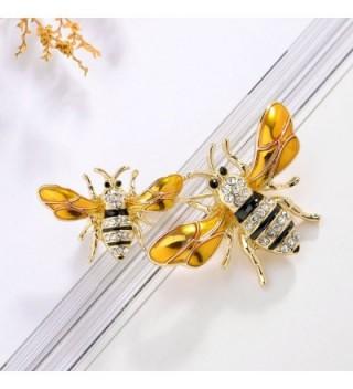 PANGRUI Exquisite Bumblebee Crystal rhinestones in Women's Brooches & Pins