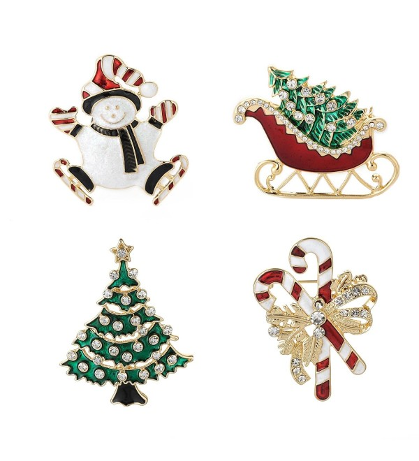Jewelry Christmas Holiday christmas brooches - CQ187504MCZ