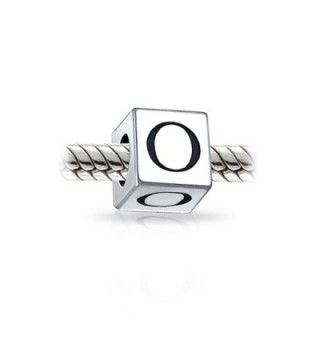 Bling Jewelry Sterling Silver Letter in Women's Charms & Charm Bracelets