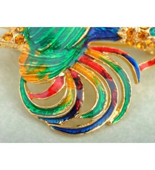 Alilang Colored Rhinestones Chicken Rooster