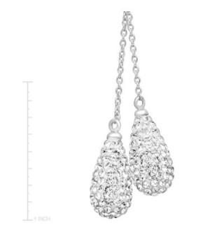 Crystaluxe Necklace Swarovski Crystals Sterling in Women's Y-Necklaces