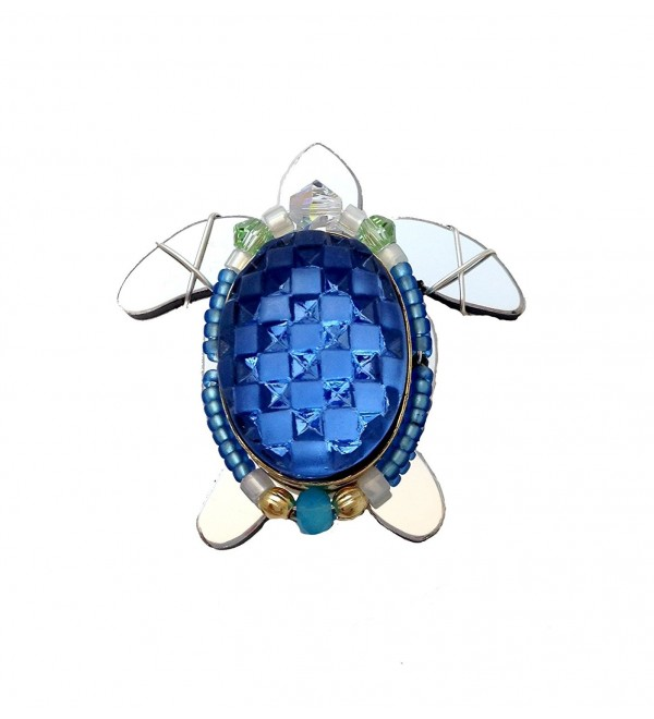 Liztech Sea Turtle Pin Turtle Brooch Beach Ocean Jewelry - C2185WG7AS8
