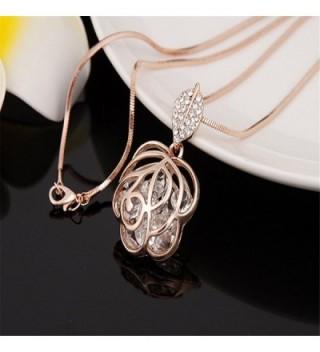 Z Jeris Fashion Rhinestone Stuffing Necklace