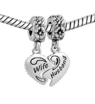 LuckyJewelry Husband Pandora Chamilia Bracelet in Women's Charms & Charm Bracelets