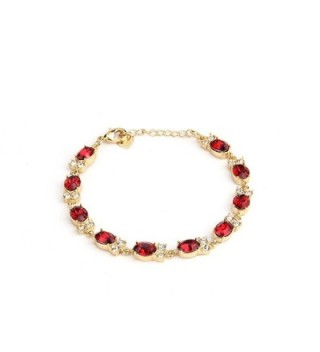 Gold Plated Cubic Zirconia Bracelet For Women Crystal Christmas Gift Retro Shaw Jewelry - CQ12O14KJ9F