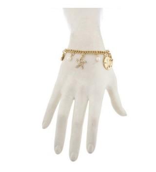 Lux Accessories Goldtone Starfish imitation