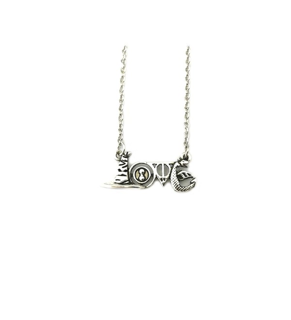 "Harry Potter ""Love"" Movie Book Pendant Necklace With Gift Box from Outlander Gear - C5188QEONNY"