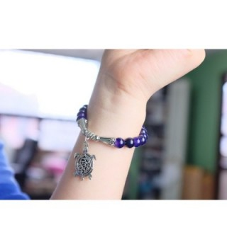 Falari Turtle Natural Stretch Bracelet in Women's Stretch Bracelets