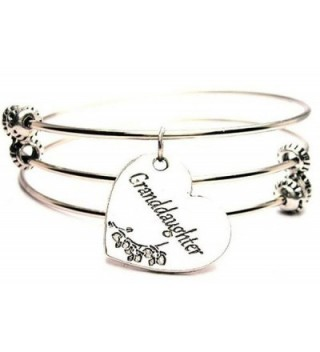 Granddaughter Expandable Triple Wire Adjustable Bracelet Made In The USA - CR11GMC7BCR