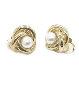 Sparkly Bride Simulated Earrings Fashion in Women's Clip-Ons Earrings