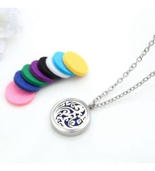 Diffuser Necklace Essential Aromatherapy Stainless