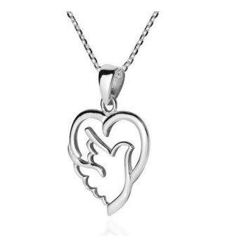 Spirit Peace Sterling Silver Necklace