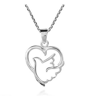 Spirit Peace Sterling Silver Necklace in Women's Lockets