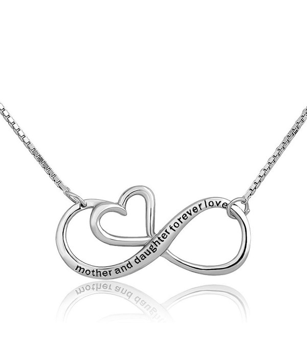 CharmSStory Infinity Daughter Sterling Necklace - CF185W4A9DA