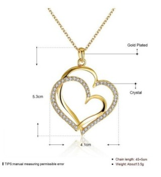 LIGHTMOON Swarovski Crystal Necklace Extender in Women's Chain Necklaces