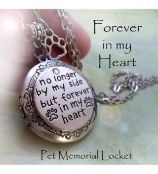 Memorial Locket Customized Photo Inside in Women's Lockets