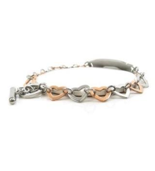 MyIDDr Pre Engraved Customizable Hypoglycemia Bracelet in Women's ID Bracelets