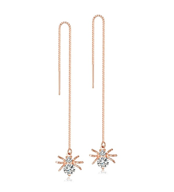Zirconia Spider Threader Earrings LicLiz - CB1899SWYQ5