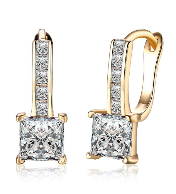 Zirconia Diamond Earrings Champagne DreamSter - CP189EAN4Q7