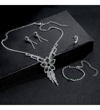 OUFO Fashion RhineStone Bracelet Necklace