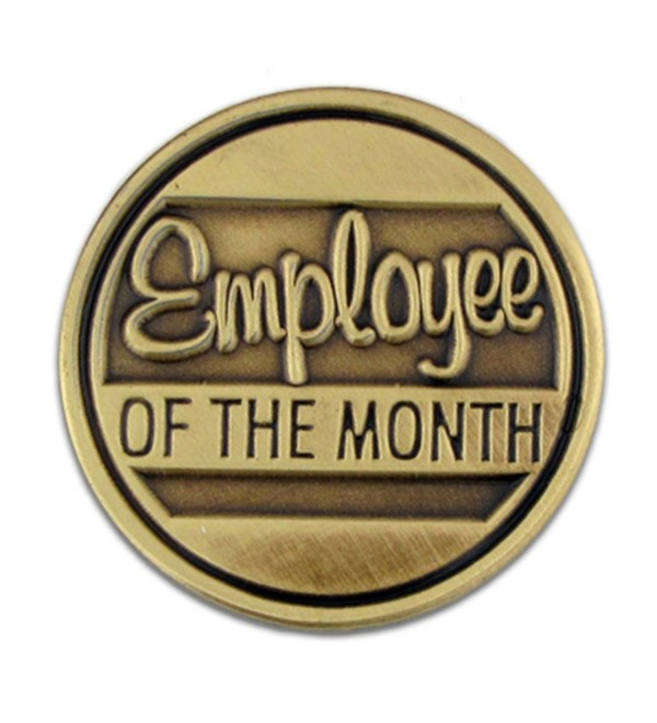 PinMart's Employee of the Month Corporate Recognition Lapel Pin - CR110T86CQB