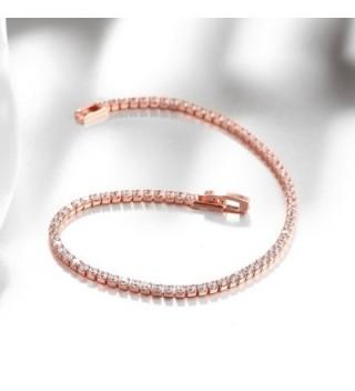 Star Jewelry Simple Crystal Bracelet in Women's Link Bracelets
