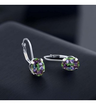 Mystic Earrings Sterling Silver Leverback