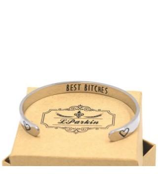 LParkin Best Bitches Bracelet in Women's Cuff Bracelets