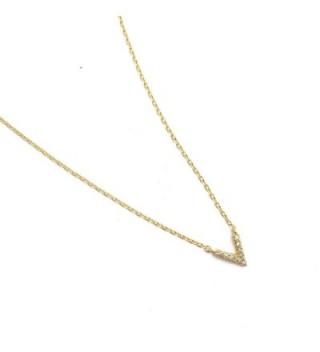 HONEYCAT Crystal Necklace Minimalist Delicate