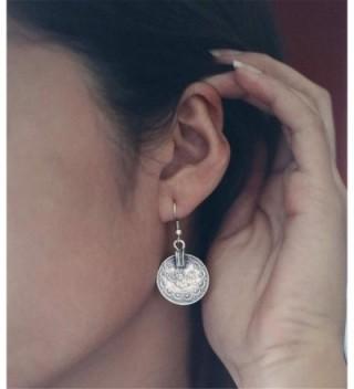 Andyle Vintage Tibetan Embossed Earrings