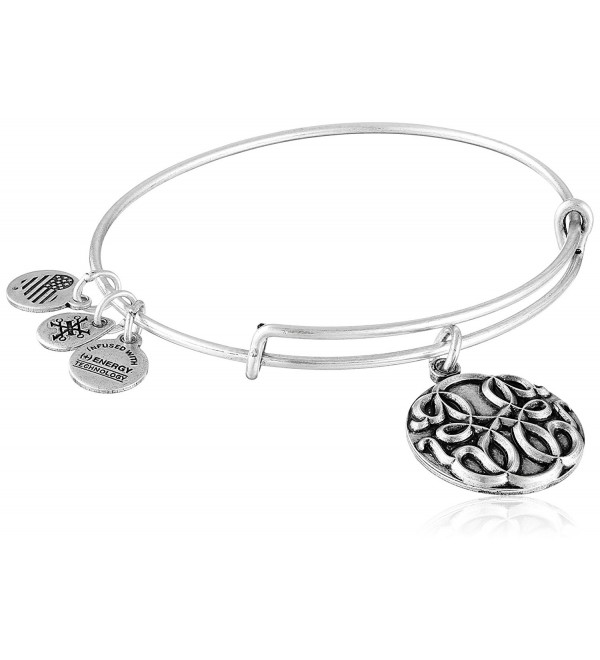 Alex and Ani Path of Life III Expandable Rafaelian Bangle Bracelet - Rafaelian Silver - CL128Y5792L