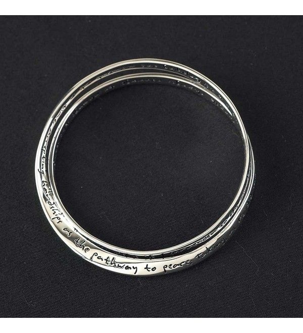 Double Mobius Bracelet - Complete Serenity Prayer - CF11O36RHRN