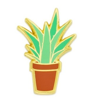 PinMart's Aloe Plant Trendy Enamel Lapel Pin - CV12NYGWCOK