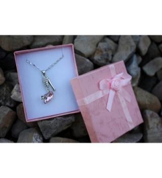 Sparkling Slipper Pendant Necklace Fashion in Women's Pendants