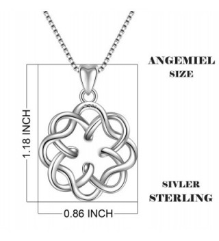 Sterling Infinity Endless Vintage Necklace
