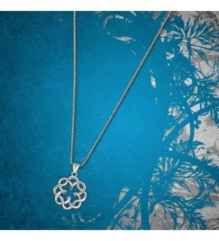 Sterling Infinity Endless Vintage Necklace in Women's Pendants