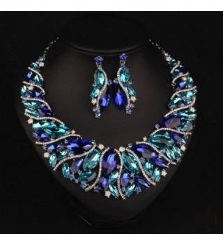 Hamer Costume Statement Necklace Earrings in Women's Jewelry Sets