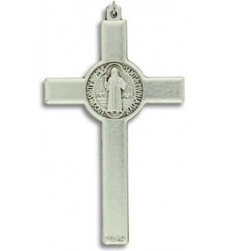 Benedict Crucifix Cross Pendant Card in Women's Pendants