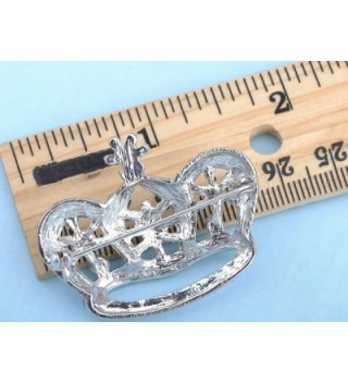 Alilang Vintage Inspired England Rhinestone in Women's Brooches & Pins