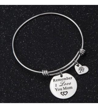 Remember Adjustable Bracelets Grandmother mom silver