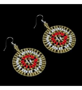 Handmade Bohemian Earrings Beadwork Jewelry