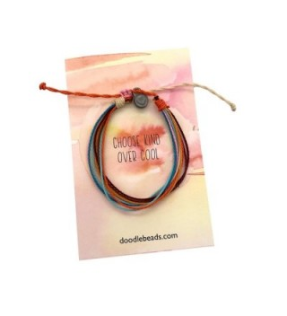 Choose Kind Threaded Bracelet Wax Coated and Waterproof - CE1890LY2EL