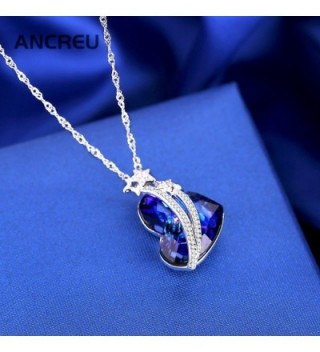 ANCREU Necklace Necklaces Swarovski Crystals in Women's Pendants