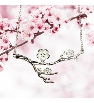 Blossom Sterling Pendant Necklace Perfect in Women's Pendants