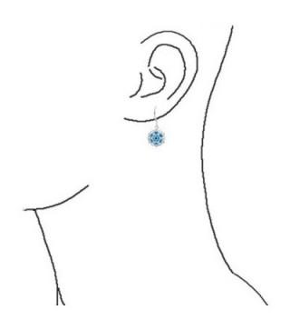 Bling Jewelry Silver Filigree Earrings in Women's Drop & Dangle Earrings