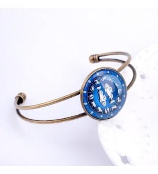 lureme Zodiac Pisces Bracelet bl003018 2 in Women's Cuff Bracelets